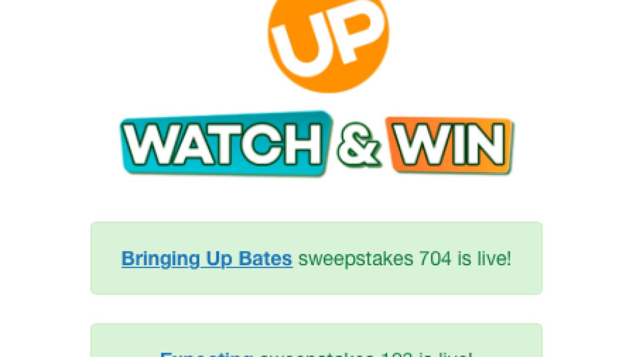 Win $1000 WatchUPandWin com Sweepstakes – MyMoneyGoblin