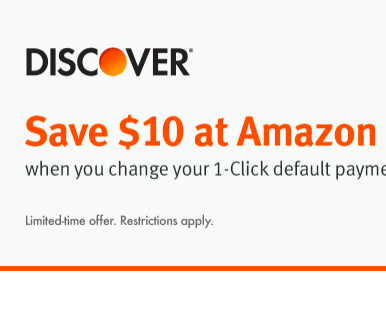 Amazon Change 1-Click Settings To Discover Card Offer