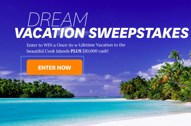 travel sweepstakes