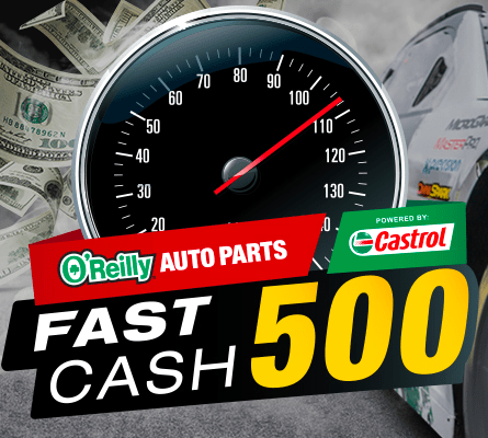 Fast Cash 500 Sweepstakes