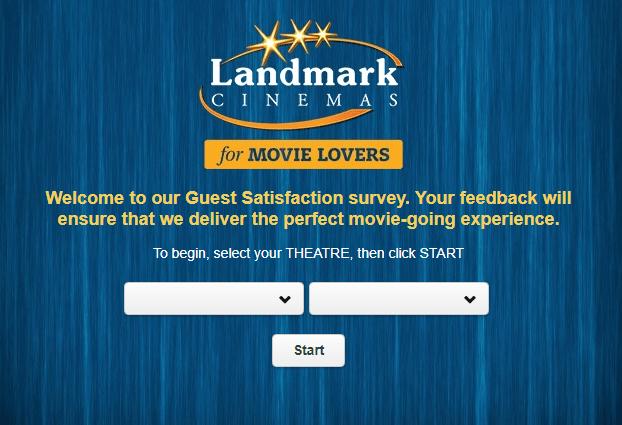 Landmark Cinemas $100 Guest Survey Sweepstakes