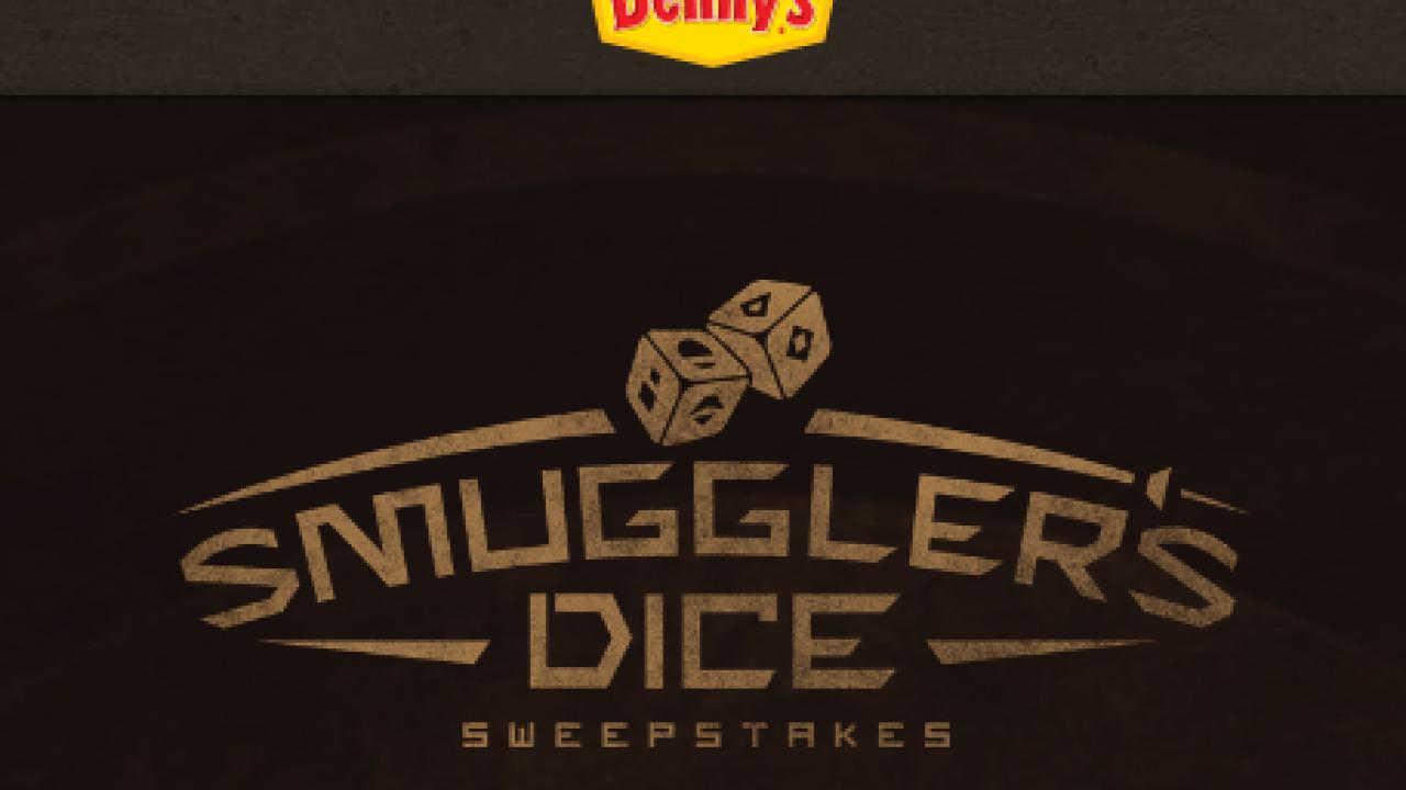 Enter Denny's Smuggler's Dice Sweepstakes – MyMoneyGoblin