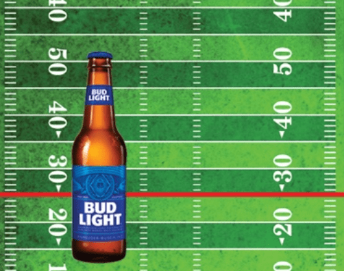 Win $2,000 Bud Light Run for the End Zone Sweep