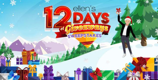 Ellenshop.com 12 Days of Giveaways Trip Sweepstakes