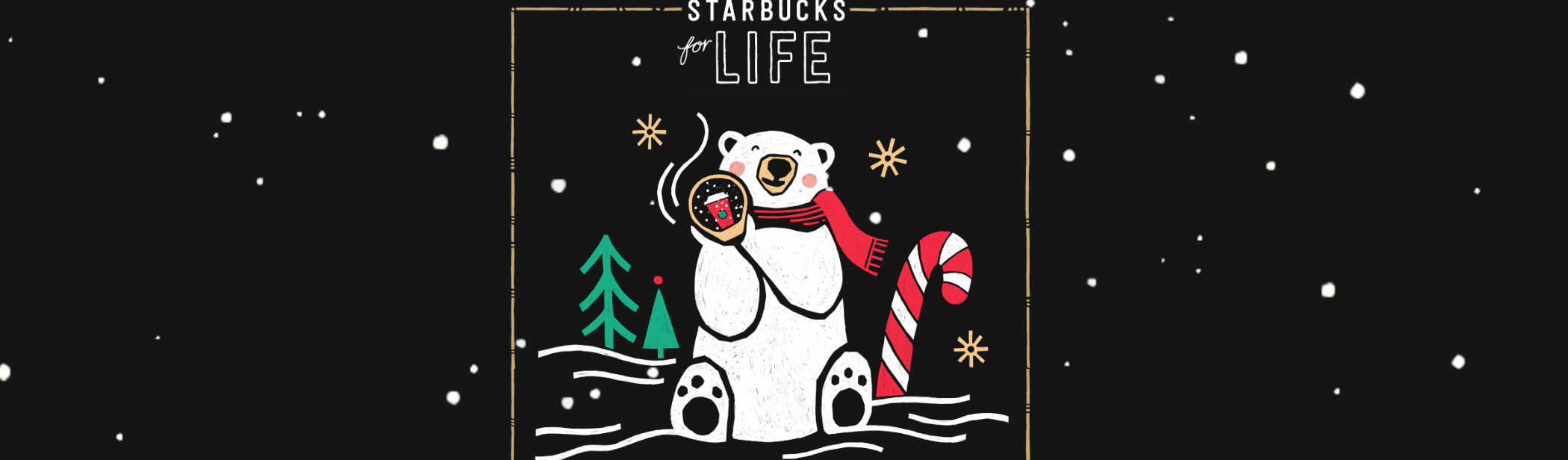 Starbucks For Life Rare Pieces 2018 Holiday Edition