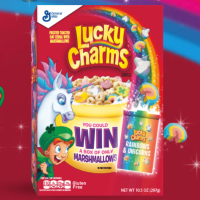 MarshmallowOnly.com Enter Code to Win a Box of Lucky Charms