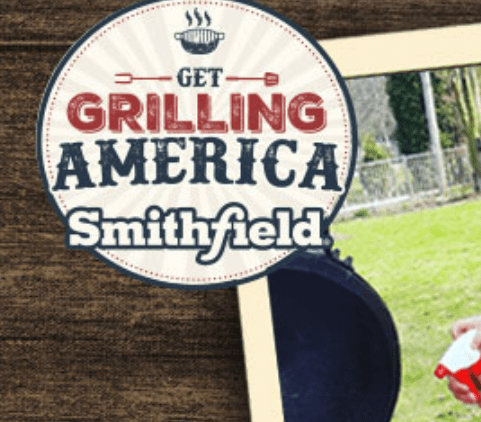 Smithfield Get Grilling Sweepstakes and Instant Win Game