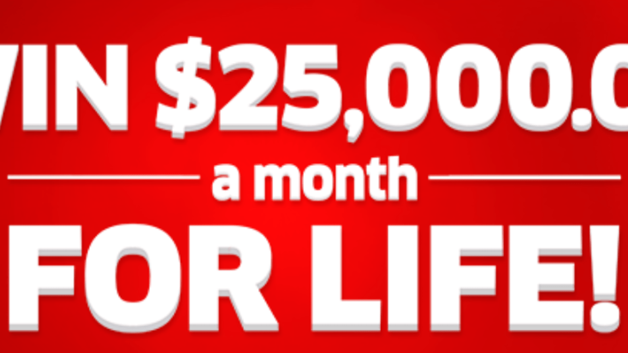 PCH com Sweepstakes $25,000 a Month for Life Giveaway (PCH Entry Form)