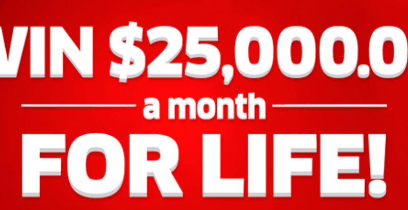 PCH.com Sweepstakes $25,000 a Month for Life Giveaway (PCH Entry Form)