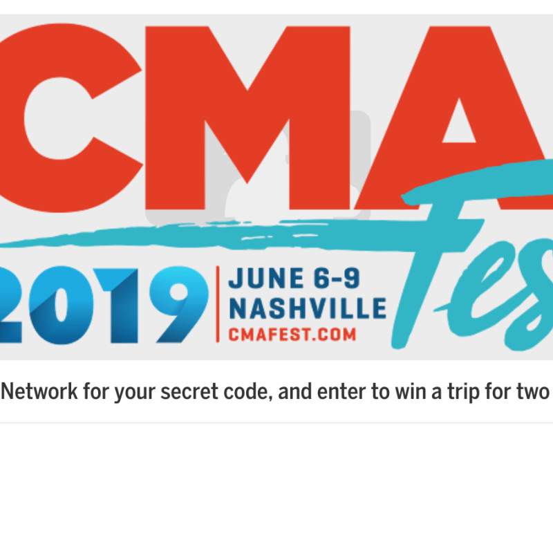 MLB CMA Fest Sweepstakes – Win a Trip to the CMA Fest in Nashville