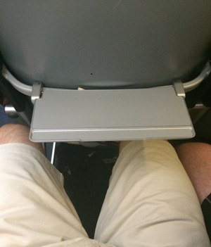 How's this for a tray table?