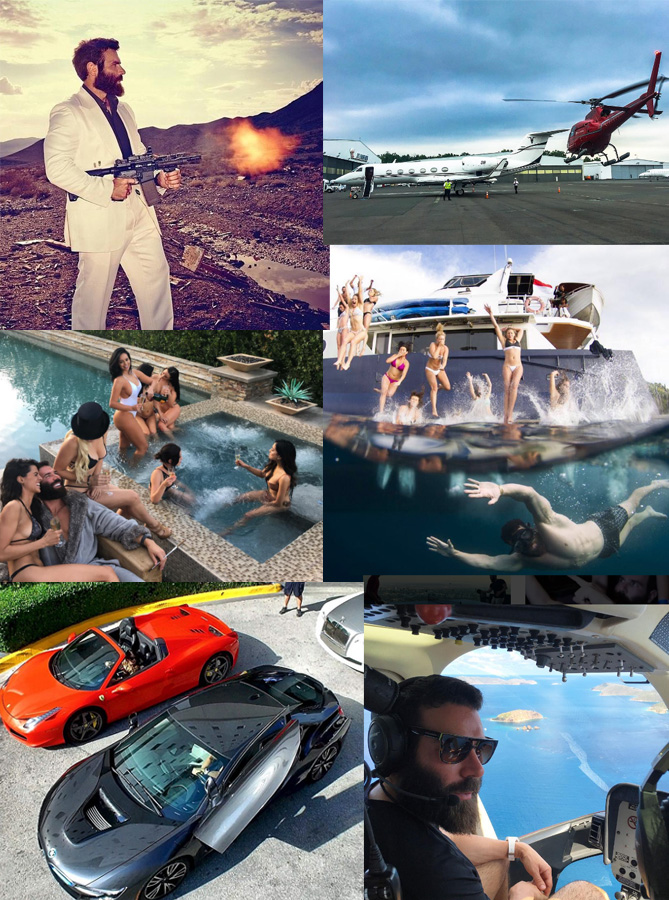 why is dan bilzerian famous