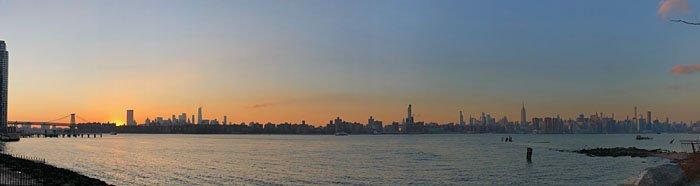 new york sunset brooklyn