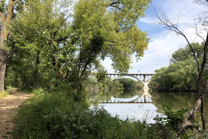 Staycation - Minneapolis hiking trail