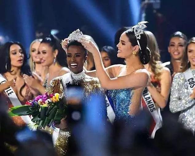 Мисс Вселенная 2019 Зозибини Тунци