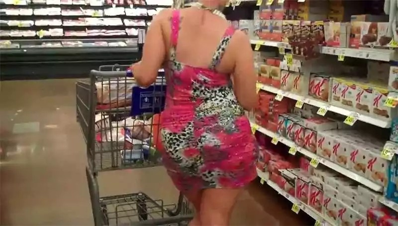 Супермаркетовские случаи в очереди