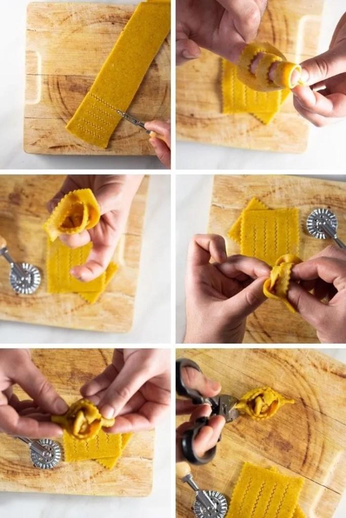 How to make chebakia shape