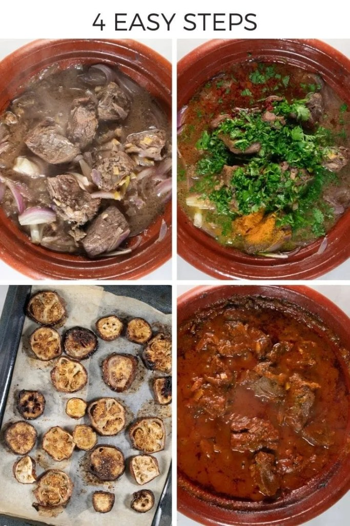 How to make Eggplant and Chickpea Tagine