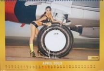 Nok Air Calendar April 2013