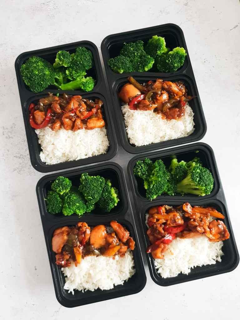 Teriyaki chicken meal prep ideas