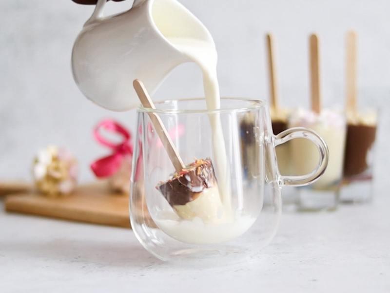 Hot chocolate stirrers recipe