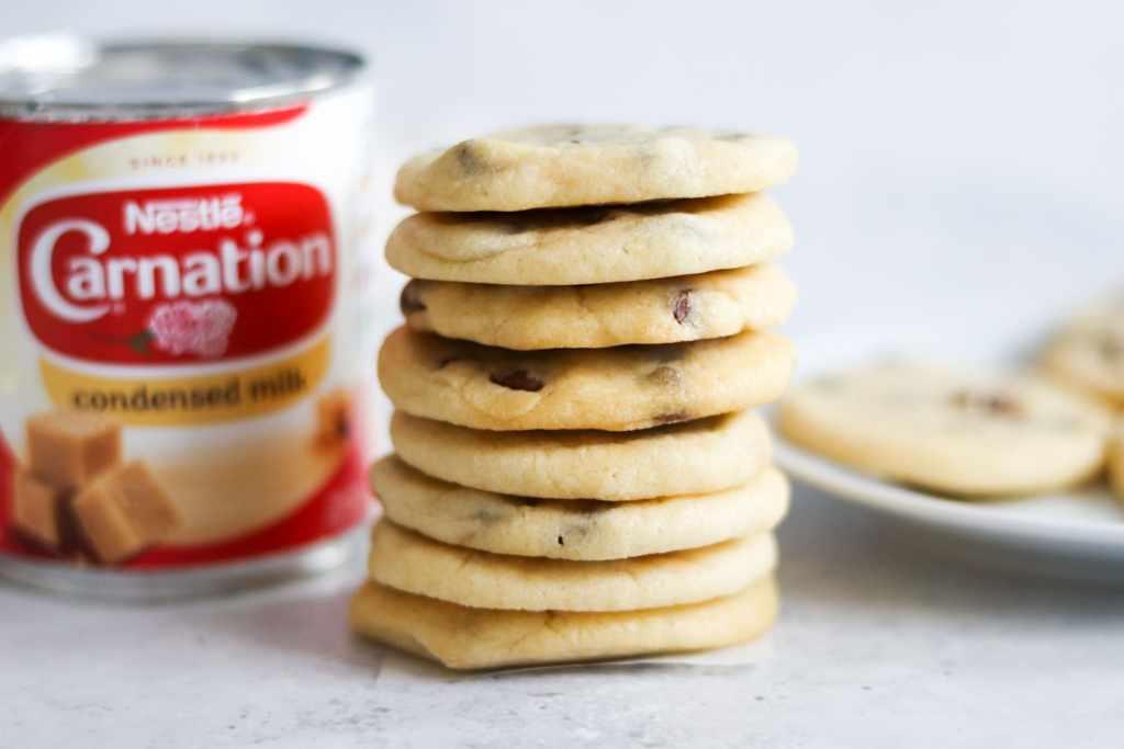 Best chocolate chip condensed milk cookies recipe