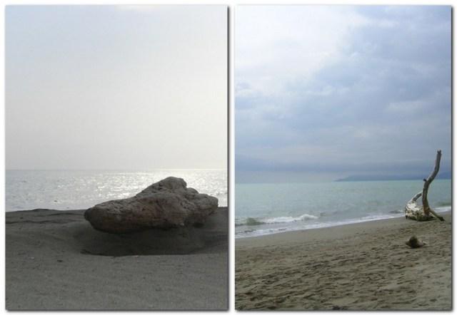 Strand in Principina Mare
