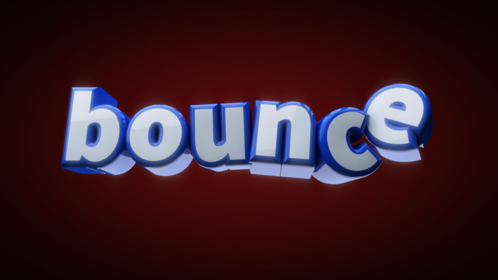 Bouncintg Text