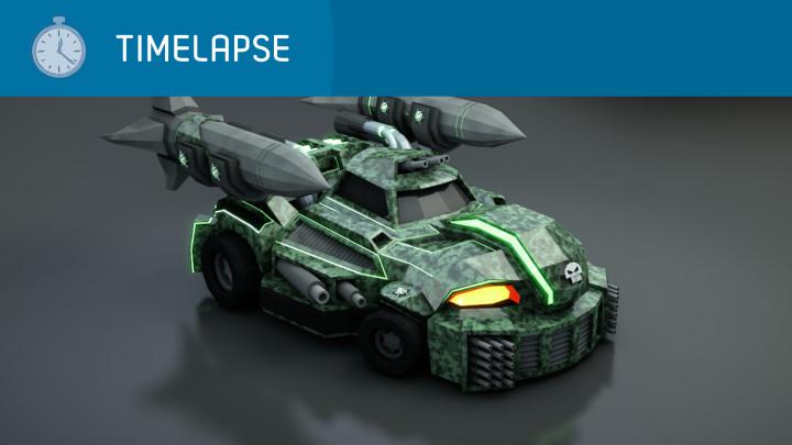 Timelapse – Blaster Car