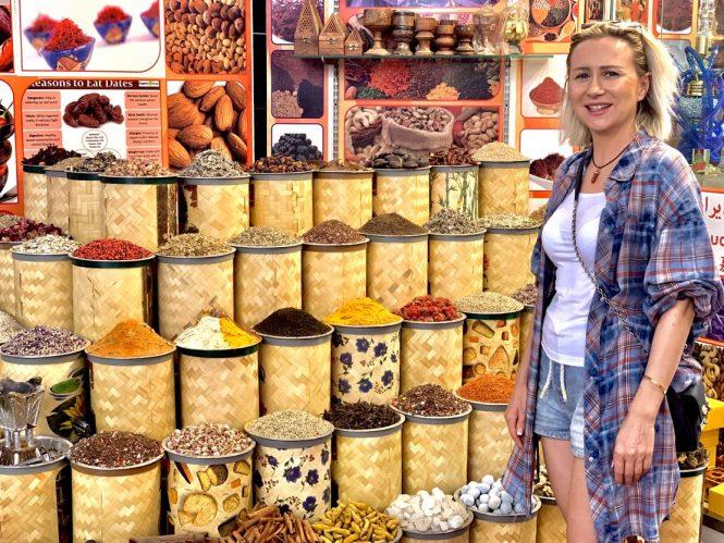 Exploring Spice Souk in Deira