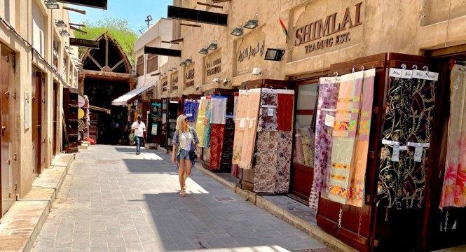Textile Souk Old dubai
