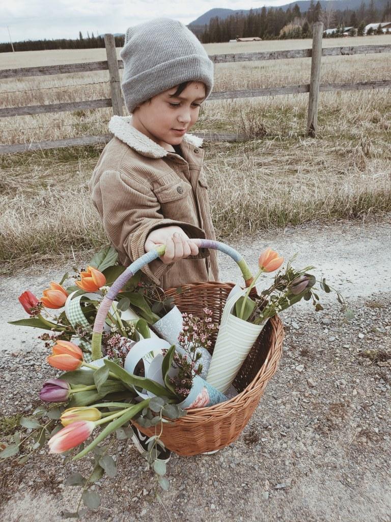 DIY May Day Baskets