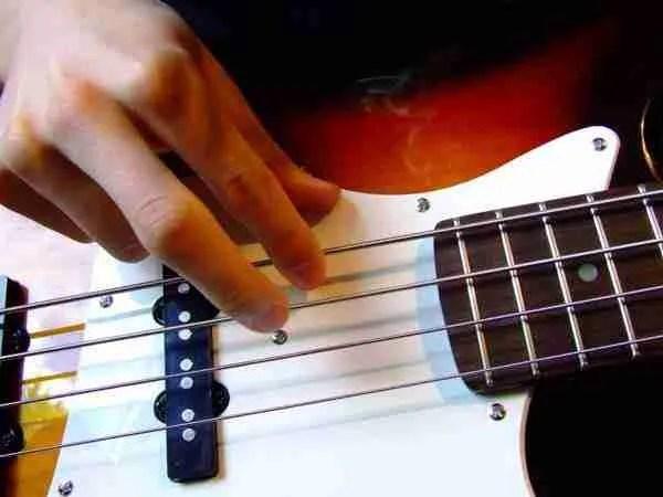 Finger picking technique