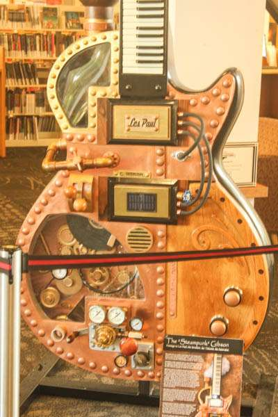 Steampunk guitar body