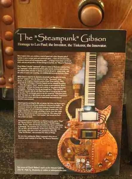 Steampunk guitar description