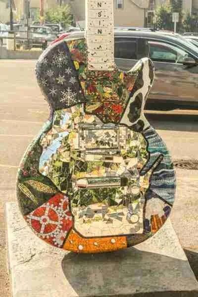 Wisconsin guitar body