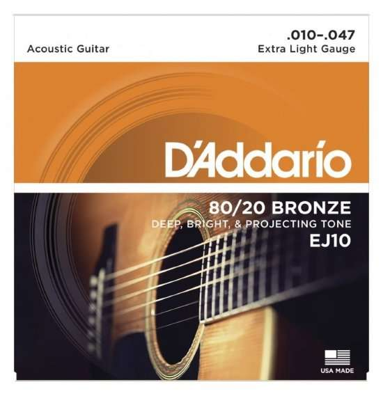 The Best and Most Popular Acoustic Guitar Strings