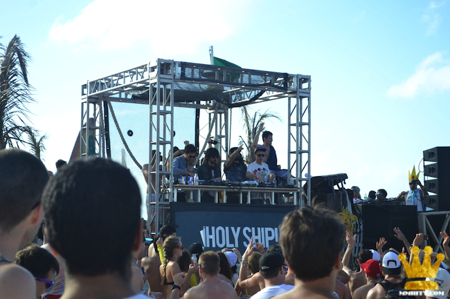 Brodinski, Justice, Gesaffelstein, Boys Noize, Destructo on the beach