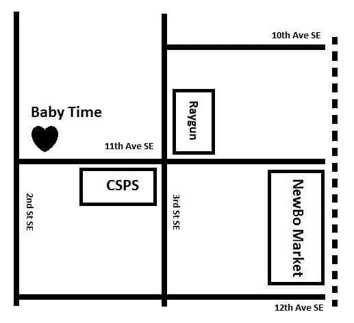 Map of Baby Time