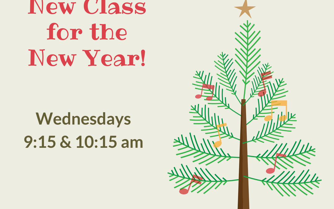 Holiday Break and New Classes