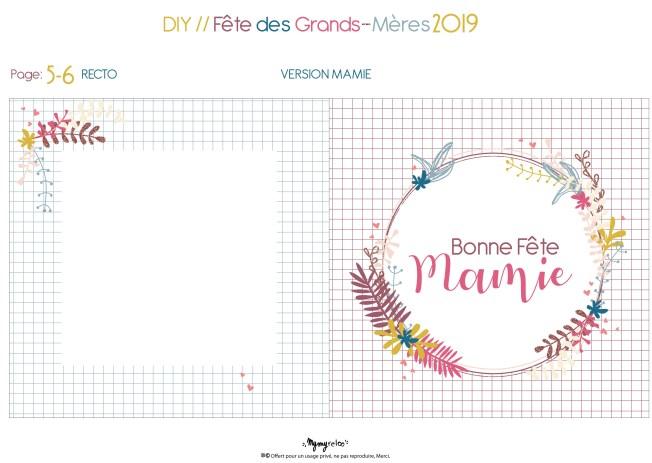DIY Fête des GM 19 V Mamie