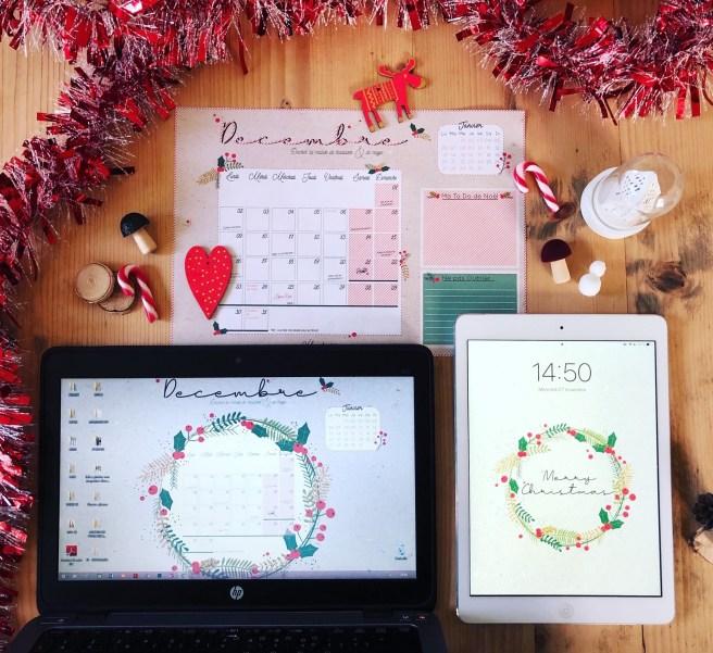 calendrier decembre 1