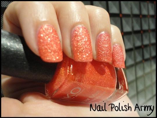Kiko-sugar-mat-640-rosso-papavero-sand-effect-poppy-red