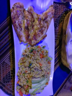 Grilled Chicken and Quinoa with Avacado