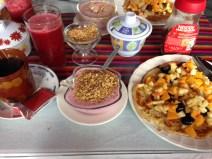 Breakfast in Banios