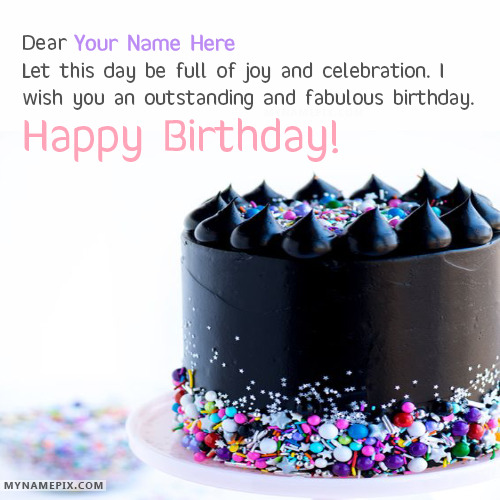 Lovely Happy Birthday Wishes With Name