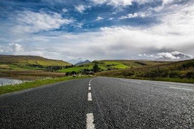 Scottish Country Road