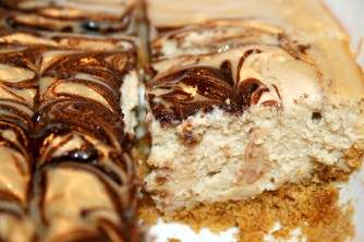 Marble Cheesecake square