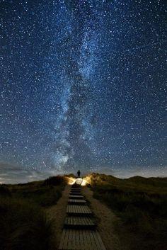 étoiles en Irelande