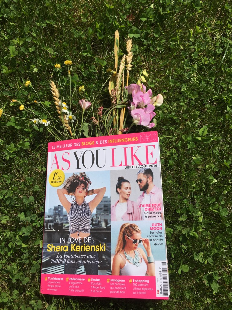 as you like - influencer magazine
